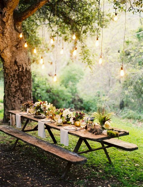 outdoor table setting 10 romantic outdoor settings tinyme blog