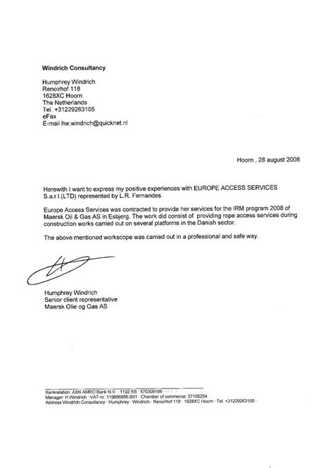 Reference Letter From Best Photos Of Work Recommendation Letter Employment Reference Letter Sle Work Reference