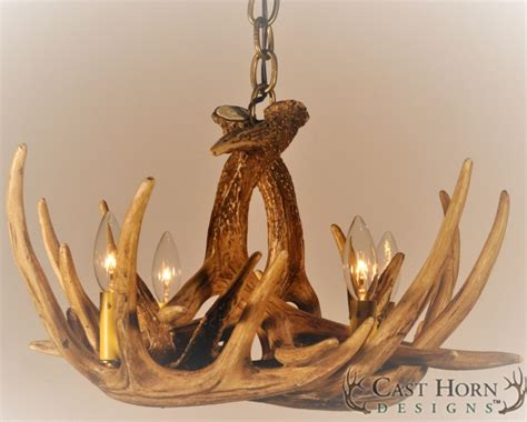 How To Make A Whitetail Deer Antler Chandelier Chd W6 Whitetail Deer 6 Antler Chandelier
