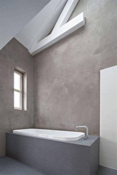 pareti vasca bagno 1001 idee per il bagno senza piastrelle molto creative