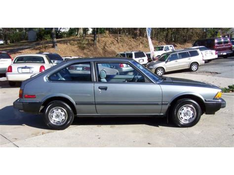 1983 honda accord lx hatchback for sale