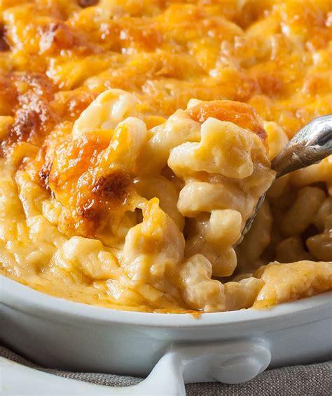Mac Cheese baked macaroni and cheese