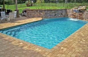 Home Design With Swimming Pool geometric pools blue haven custom swimming pool and spa