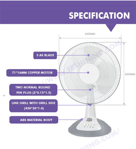 ultra table fan ultra 16inch mini small table desk fan
