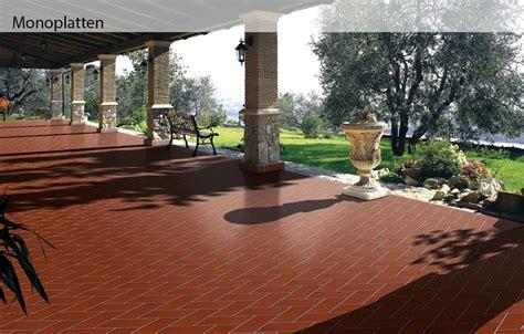 pavimenti klinker per esterni piastrelle klinker domus linea monoplatten pavimenti esterni