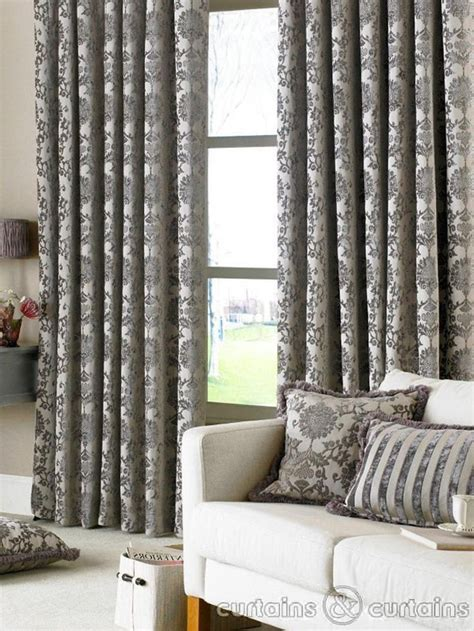 home decor curtains grey pattern curtains home decor ideas