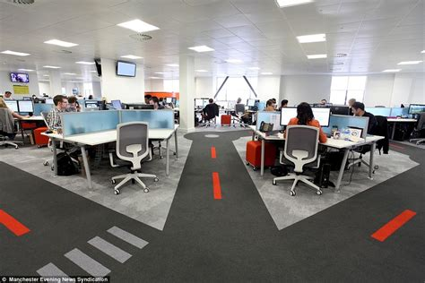 office pictures is this the coolest office in britain firm spends 163 2