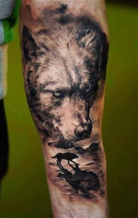 tattoo arm wolf http tattoomagz com wolfs tattoos on arms realistic
