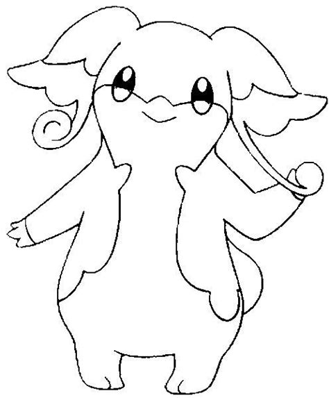 Jangmo O Coloring Page by Coloring Pages Audino Drawings