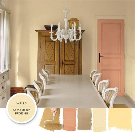 use this parchment toned paint color to add an antique appeal to a country inspired space