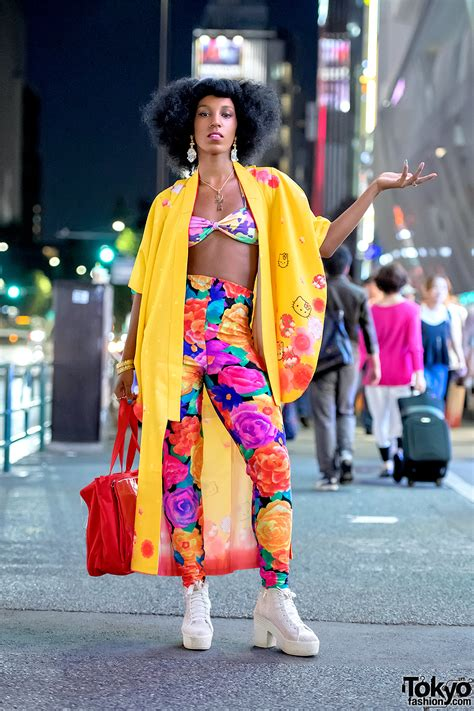 Fashion Hello colorful harajuku style w hello kimono