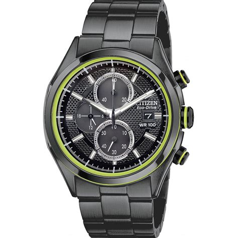citizen mens drive htm ca0435 51e eco drive chronograph