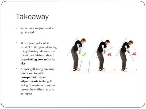 golf swing takeaway golf lesson slides 040215