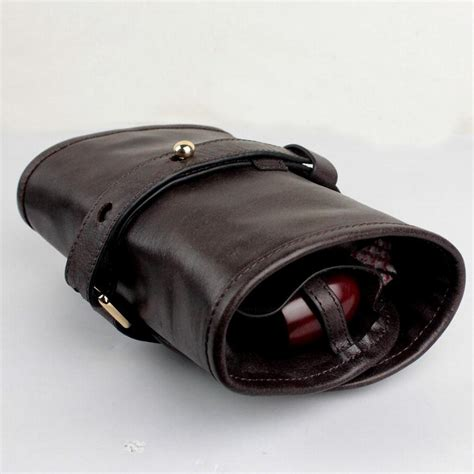 Handmade Leather Tool Pouch - firedog handmade leather tobacco pipe pouch pipe