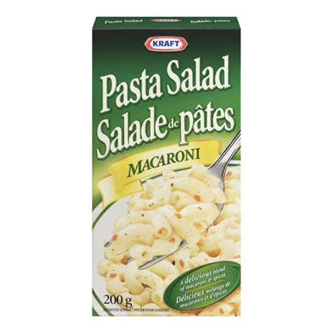 pasta salad box kraft cold pasta salad macaroni