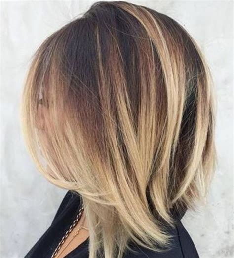 short hairstyles light brown with blond highlights pictures of short dark brown hair with blonde highlights