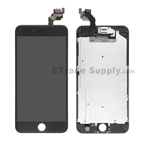 Sparepart Iphone 6 apple iphone 6 plus lcd assembly with frame and small