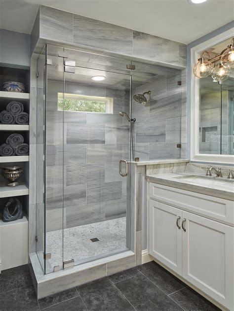 gray wood tile bathroom photos hgtv