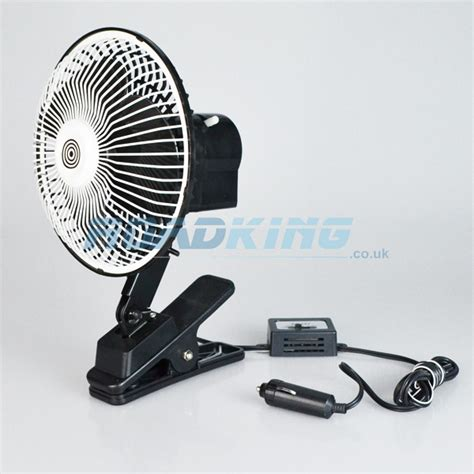 12 volt clip on fan 24v cooling fan clip on 6 inch oscillating roadking