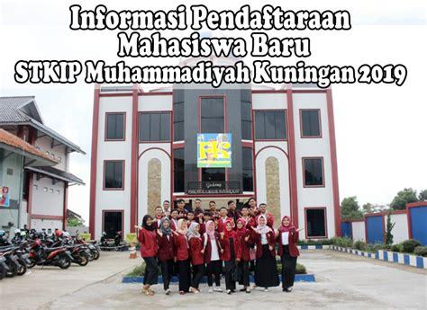 informasi pendaftaran mahasiswa  stkip muhammadiyah