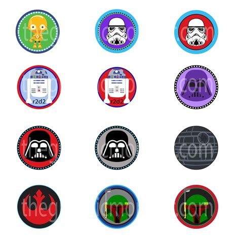 printable lego star wars cupcake toppers star wars cupcake toppers printable www imgkid com the