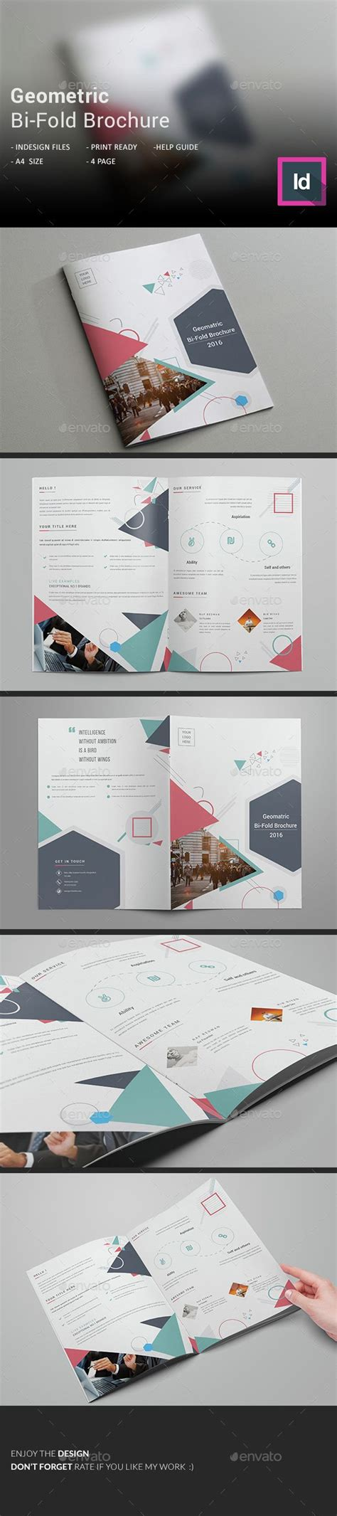 Bi Fold Brochure Template Indesign 1000 ideas about bi fold brochure on brochure