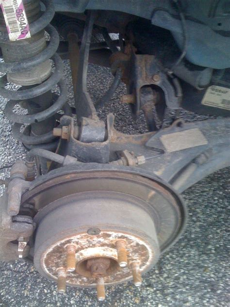 jeep patriot suspension bad camber and sag rear end jeep patriot forums
