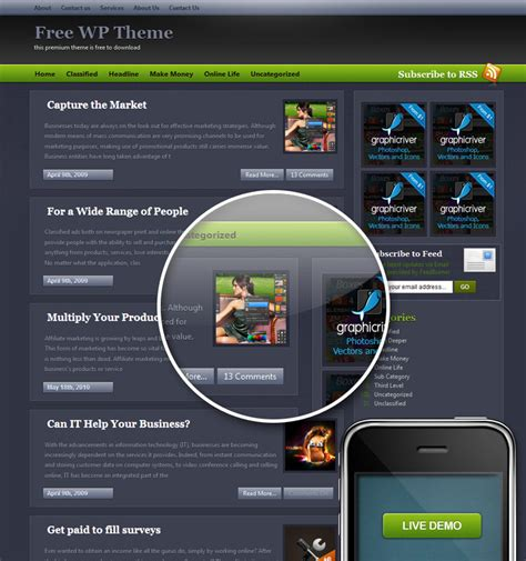 wordpress layout ipad 15 practical and elegant wordpress themes for ipad all