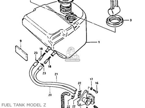 suzuki fa   parts list partsmanual partsfiche