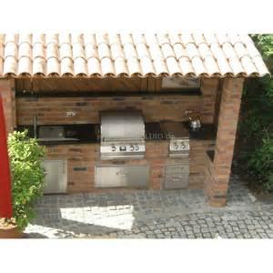 outdoork 252 che aus backstein mit fire magic einbau gasgrill