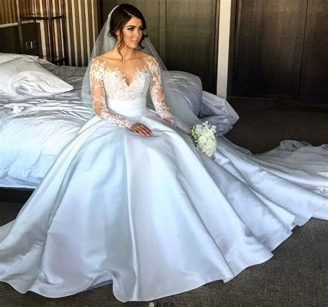 Sexy Wedding Dresses Sheath/Column Sweep/Brush Train Slit