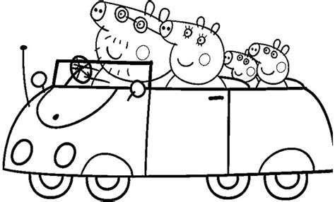 Peppa Pig Coloring Pages Printable Pdf | 15 peppa pig coloring page to print print color craft