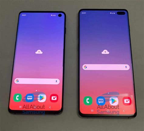 Samsung Galaxy S10 4k by Durchl 246 Chertes Oled Display Frische Bilder Des Samsung Galaxy S10 4k Filme