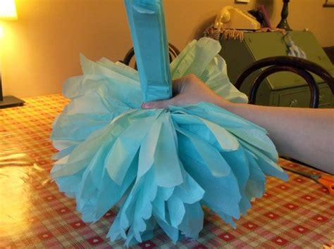 Things To Make With Tissue Paper - things to make and do tissue paper pom poms