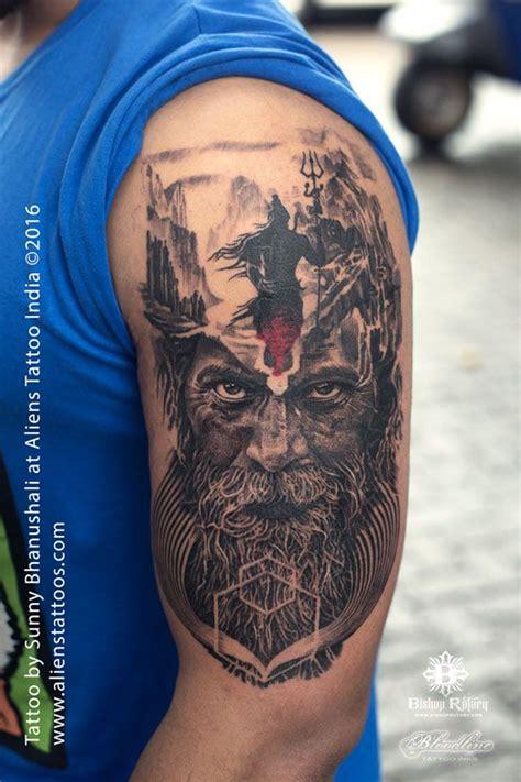 shivji tattoo designs mortal journey of lord shiva by bhanushali at