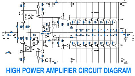 layout pcb power lifier 2000 watt dj amplifier circuit diagram circuit diagram images