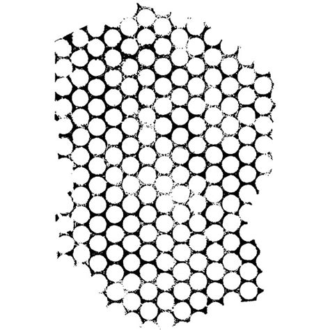 187 circular honeycomb art at the speed of life