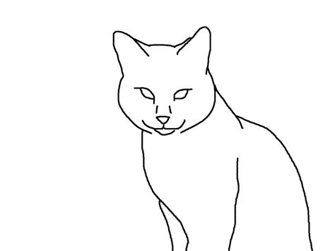 Outline Drawing Cat Laying Vitruvian Outline by Outline Cat 3 By Nyjon On Deviantart