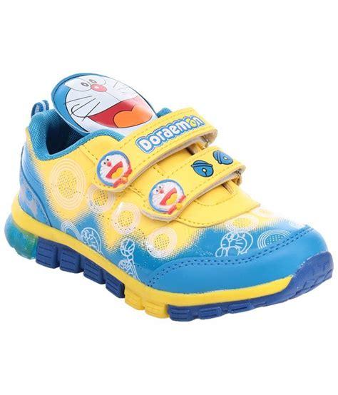 Doraemon Shoes doraemon blue yellow sneaker shoes for boys price in india buy doraemon blue yellow sneaker