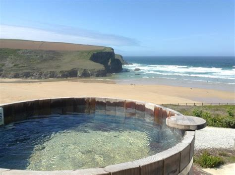 In Cornwall With Tub the view from the scarlet hotel s tubs cornwall review http www bahighlife hotels