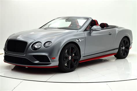 black convertible bentley 2017 bentley continental gt v8 s convertible black edition