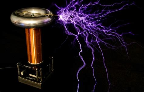 Tesla Coil Pics Build Your Own Tesla Coil With The Tinytesla Kit