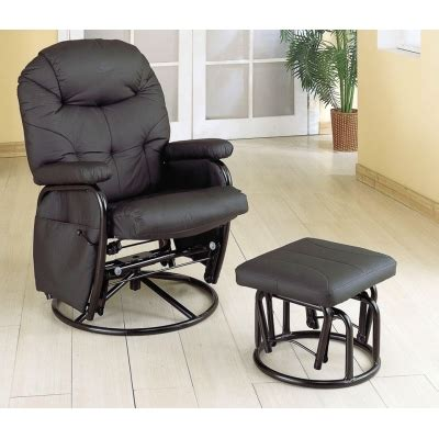reclining glider rocker ottoman set reclining glider rocker ottoman set recliners with
