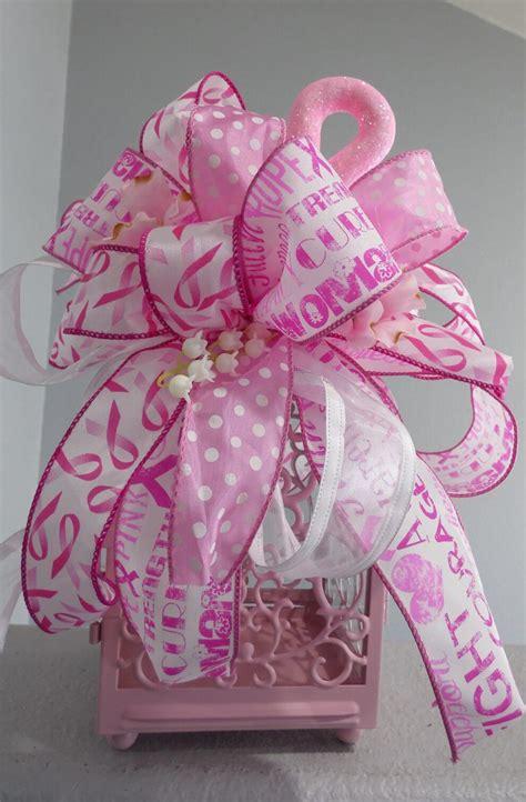breast cancer awareness centerpiece wreaths garland