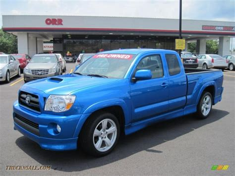 2008 toyota tacoma x runner in speedway blue 522325 truck n sale