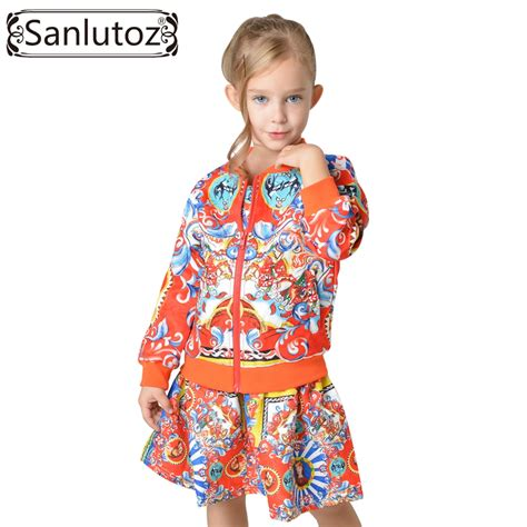 Sportwear Set aliexpress buy sanlutoz children clothing set toddler clothes 2016 winter autumn