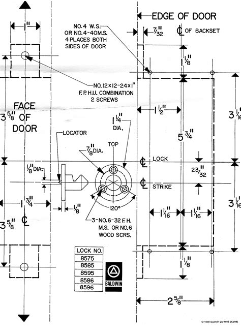 Baldwin Mortise Lockset Diagram 31 Wiring Diagram Images Wiring Diagrams Love Stories Co Marks Mortise Lock Template