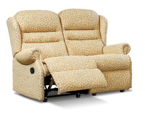 reclining settees olivia standard fabric reclining 2 seater settee