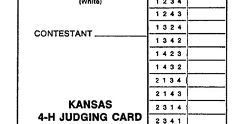 livestock judging cards template with livestock judging reasons card images
