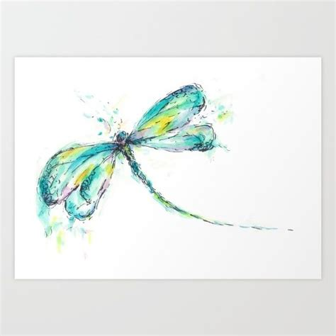 watercolor dragonfly tattoo best 25 watercolor dragonfly ideas on